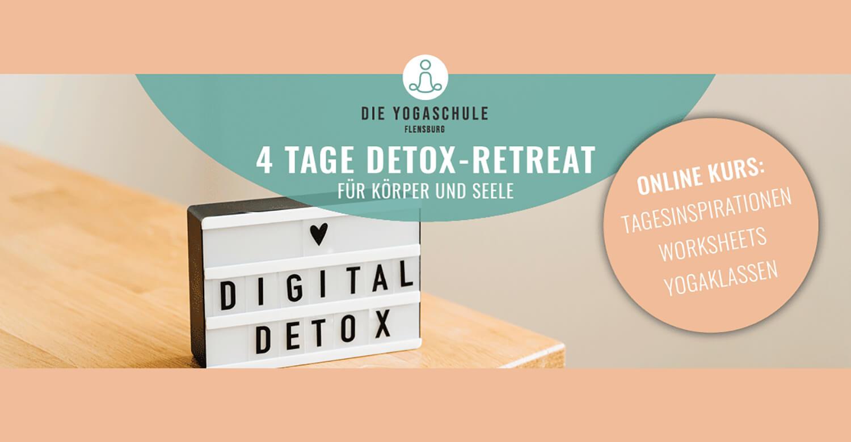 4 Tage Online-Detox-Retreat